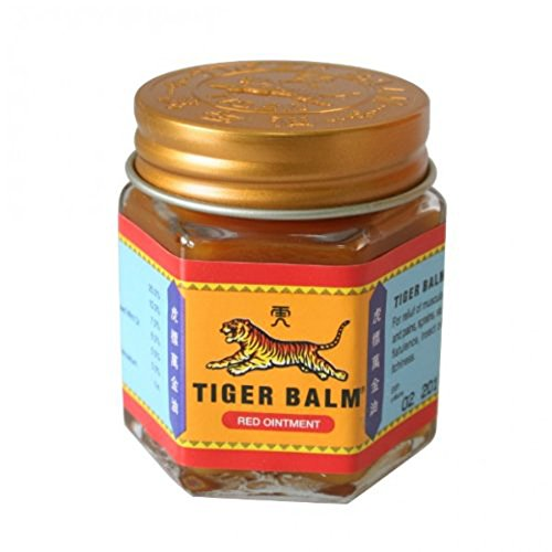 Tiger Balm Ayurvedic Ointment, Red, 30g Relief For Muscle Pains 100%Natural Balm