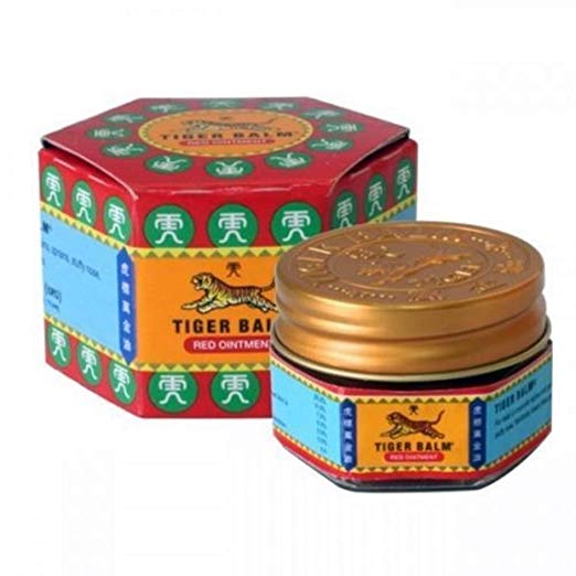 "<h3>Tiger Balm Red Extra Strength Pain Relieving Ointment 10g</h3><h3><img src=""https://images.accessories-product.com/imgProduct/UsHon-20181025154218724/UsHon-20181025154218724-20190220164839/UsHon-20181025154218724-2019022016483961riW0rbLSX522_.jpg"" id=""61riW0rbLSX522_.jpg"" style=""width: 522px;"" class=""img-thumbnail""></h3><h3> </h3><p><span style=""font-weight: bold; font-size: 18px;""><br></span></p><p><span style=""font-weight: bold; font-size: 18px;"">Product Description</span></p><ul><li><span style=""font-size: 18px;"">Camphor 25%, Menthol 10%, Cajuput Oil 7%, Dementholised Mint Oil 6%, Clove Oil 5%, Cassia Oil 5%, Paraffin & Petrolatum q.s.</span></li><li><span style=""font-size: 18px;"">Tiger Balm Red Extra Strength Pain Relieving Ointment, 10g</span></li><li><span style=""font-size: 18px;"">Relief from Muscle and Joint Pain and is easy to apply over large areas of the body</span></li><li><span style=""font-size: 18px;"">Natural herbal ingredients, Helps relieve back pain, muscle pain, joint pain, abdominal pain or cramps</span></li><li><span style=""font-size: 18px;"">Apply rub massage relief. Muscle aches, joint pain and stiffness, cramps line</span></li><li><span style=""font-size: 18px;"">Made in Thailand</span></li></ul><p><br></p>"