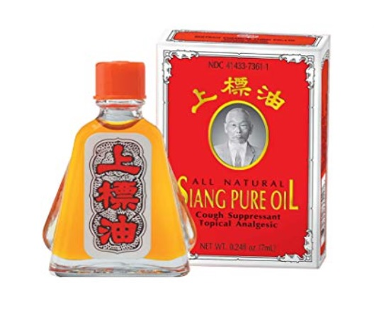 "<h3>Siang Pure Oil Original Red Formula I 3ml <span style=""white-space:pre"">		</span></h3><div><br></div><div><h3><span style=""white-space: pre;"">		</span></h3><div style=""color: rgb(49, 49, 49);""><br></div><div style=""color: rgb(49, 49, 49);""><img src=""https://images.accessories-product.com/imgProduct/UsHon-20181025154218724/UsHon-20181025154218724-20190404150325/UsHon-20181025154218724-20190404150325Siang Pure Oil Original Red Formula I 1.jpg"" id=""Siang Pure Oil Original Red Formula I 1"" alt=""Siang Pure Oil Original Red Formula I 1"" class=""img-thumbnail"" style=""line-height: 1.42857; width: 875px;""></div></div><div><br></div><h4><span style=""font-weight: bold;"">Description  SIANG PURE OIL Formula I</span></h4><div><br></div><div>Siang Pure Oil Formula 1 consists of Menthol, Camphor, Clove Oil, Peppermint Oil and Cinnamon Oil. This robust combination of essential oils fused together creates a top ranking oil. <span style=""color: rgb(49, 49, 49);""> Thai people</span> happy to say this high end oil is one of the best, we hope you like it as much as we do!</div><div><br></div><div>Siang Pure Oil Formula 1 works extremely well at relieving aches, pains and <span style=""color: rgb(49, 49, 49);"">strained</span>. Due to the robust combination of essential oils, Siang Pure Oil relieves dizziness. Furthermore this oil can relieve stuffy noses, insect bites and itchy skin.</div><div><br></div><div>Using this oil after physical activities will dramatically increase recovery times. Alternatively using this oil before your workouts will warm the muscles and tendons thus reducing the possibility of strains.</div><div><br></div><div>To learn more about the ingredients of this oil, <span style=""color: rgb(49, 49, 49);"">please head on over to the ingredients in this below.</span></div><div><br></div><div>You can learn how to perform the correct Thai massage techniques and if you're curious you can learn about the balm ingredients.</div><div><br></div><div><br></div><h4><span style=""font-weight: bold;"">Legal Disclaimer</span></h4><div>Statements regarding dietary supplements have not been evaluated by the FDA and are not intended to diagnose, treat, cure, or prevent any disease or health condition.</div><div><br></div><h4><span style=""font-weight: bold;"">Ingredients</span></h4><div>Menthol, Peppermint Oil, Camphor, Cinnamon Oil, Clove Oil</div><div><br></div><div><table style=""background-color: rgb(255, 255, 255); color: rgb(82, 82, 82); font-family: kanitlight; letter-spacing: 0.49px; width: auto;""><tbody><tr><td>MENTHOL</td><td>38.6 g.</td></tr><tr><td>CAMPHOR</td><td>6.9 g.</td></tr><tr><td>CLOVE OIL</td><td>0.5 ml.</td></tr><tr><td>PEPPERMINT OIL</td><td>39.6 ml.</td></tr><tr><td>CINNAMON OIL</td><td>0.5 ml</td></tr></tbody></table></div> <br>"