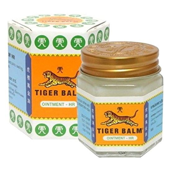 Tiger Balm Ayurvedic Ointment, White, 30g Relief For Muscle Pains 100%Natural Balm