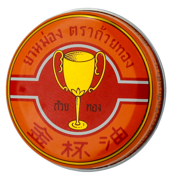Golden Cup Balm 4 g. For Relief Of Muscular Rheumatism,Insect Bites Or Stings,Strains,Nasal Congestion