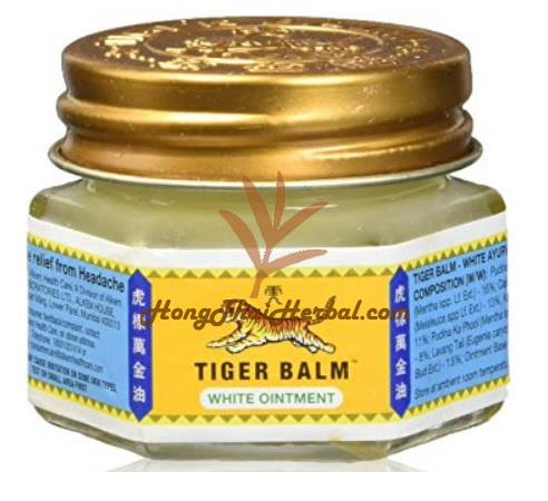 Tiger Balm White Ointment Extra Strength Pain Relieving Ointment 10g