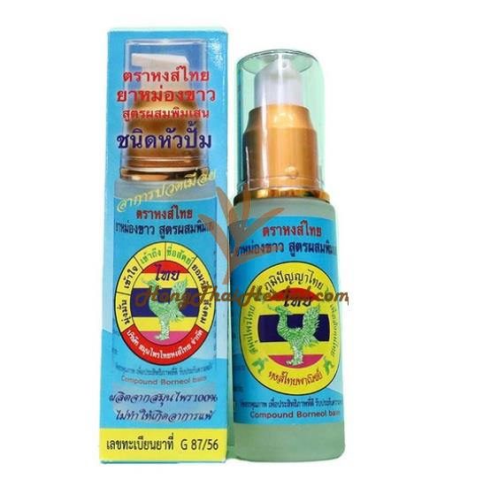 Hong Thai Compound Borneol balm size 30 CC. for relief of muscle pain and insect bite